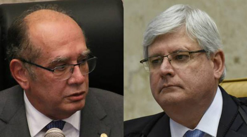 Lava Jato: Rodrigo Janot dá um sacode no Ministro Gilmar Mendes